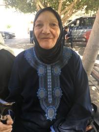 Naciye Musa in Cyprus, September 2018.